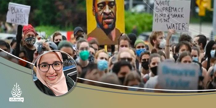 أمريكا أبيض وأسود.. والمجتمع الإسلامي ينعمُ بالألوان!